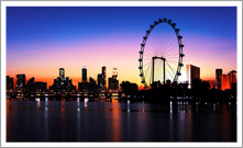Limousine to Singapore Flyer